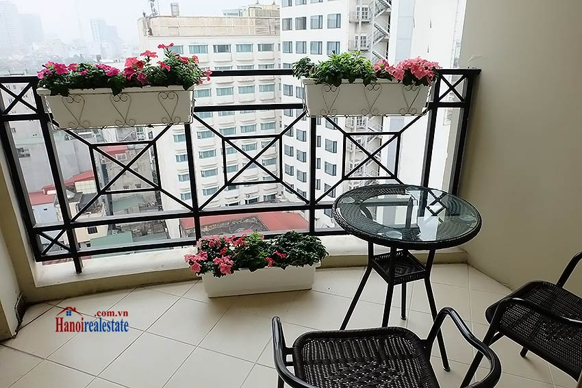 Fully furnished serviced apartment in downtown Hanoi, 2 bedrooms 2