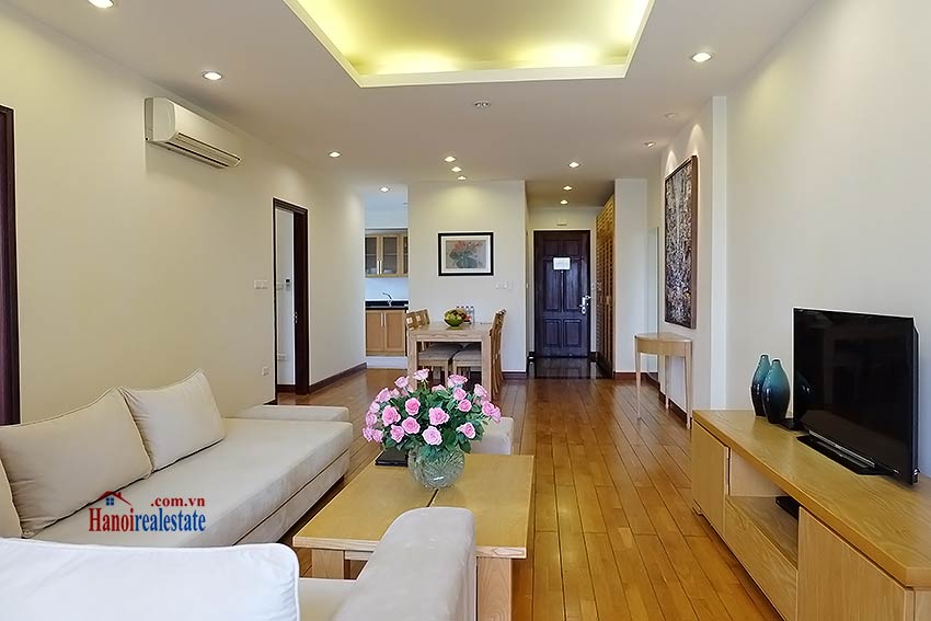 Fully furnished serviced apartment in downtown Hanoi, 2 bedrooms 3