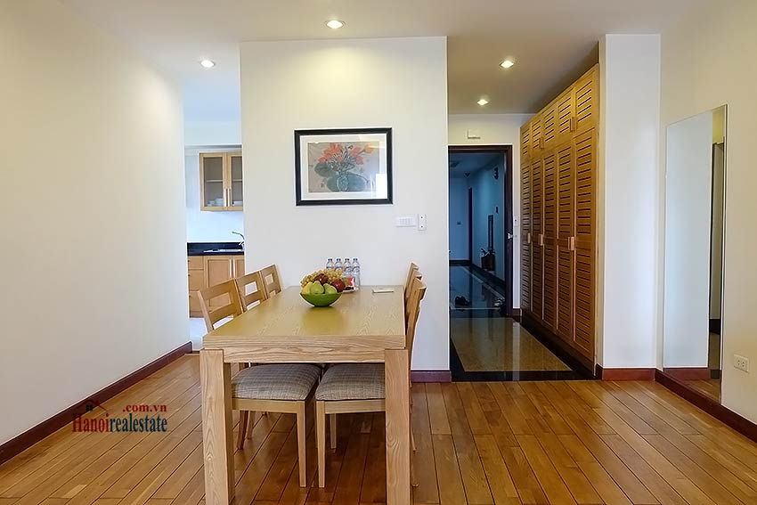 Fully furnished serviced apartment in downtown Hanoi, 2 bedrooms 4