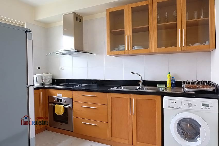 Fully furnished serviced apartment in downtown Hanoi, 2 bedrooms 5