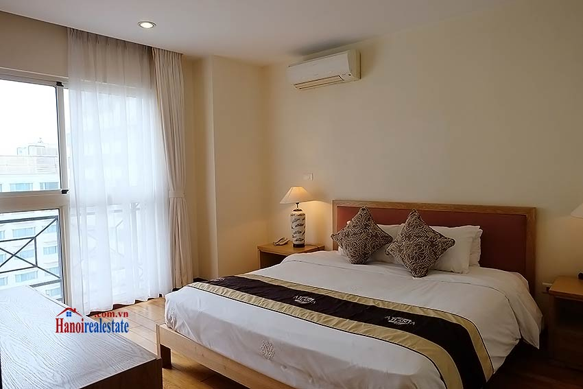 Fully furnished serviced apartment in downtown Hanoi, 2 bedrooms 8