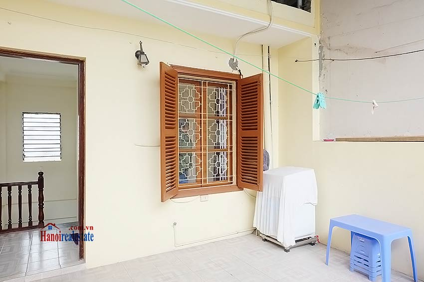 Furnished 03 bedroom house to rent in Hoan Kiem with terrace 17