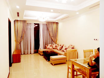 Furnished 2 bedroom apartment for rentals at R4 Royal City Hanoi