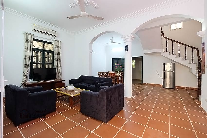 Furnished 4-bedroom house to lease in Tay Ho-Westlake, Hanoi 3