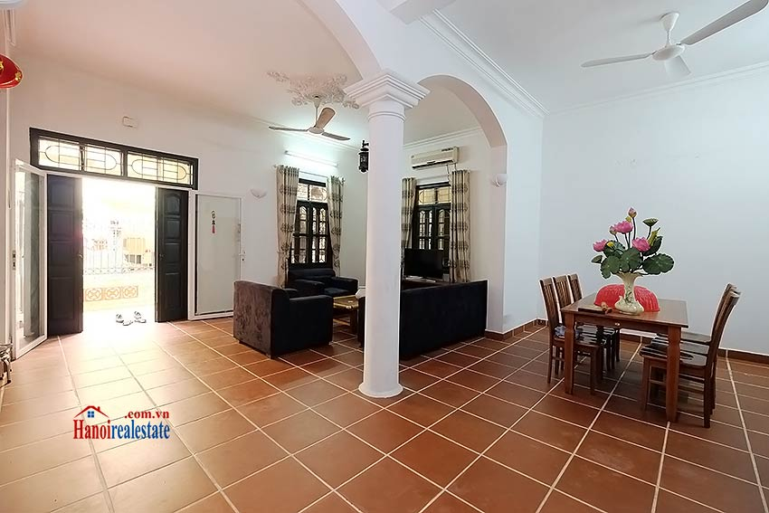 Furnished 4-bedroom house to lease in Tay Ho-Westlake, Hanoi 4