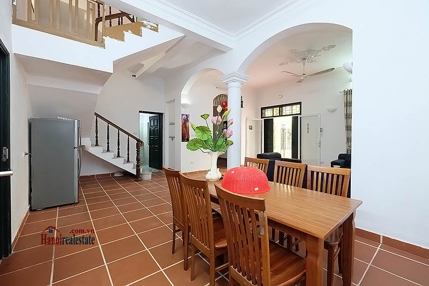 Furnished 4-bedroom house to lease in Tay Ho-Westlake, Hanoi 5