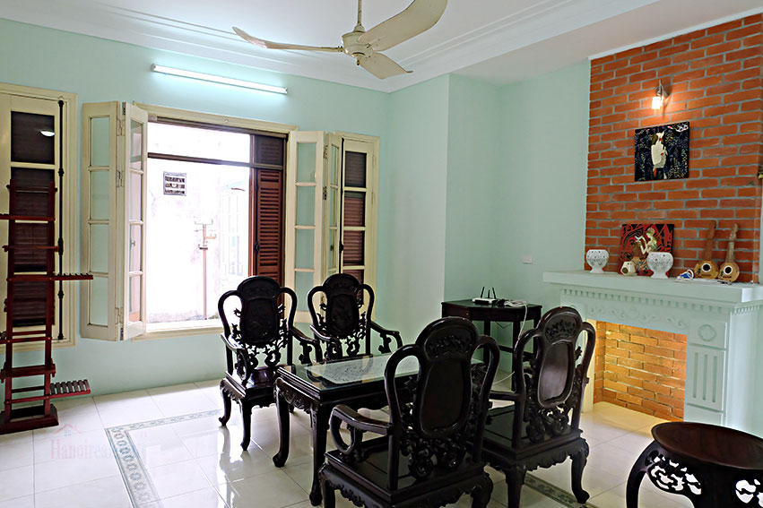Furnished 5-bedroom house for rent in Yen Phu village, Tay Ho 12