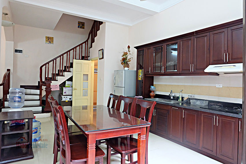 Furnished 5-bedroom house for rent in Yen Phu village, Tay Ho 8