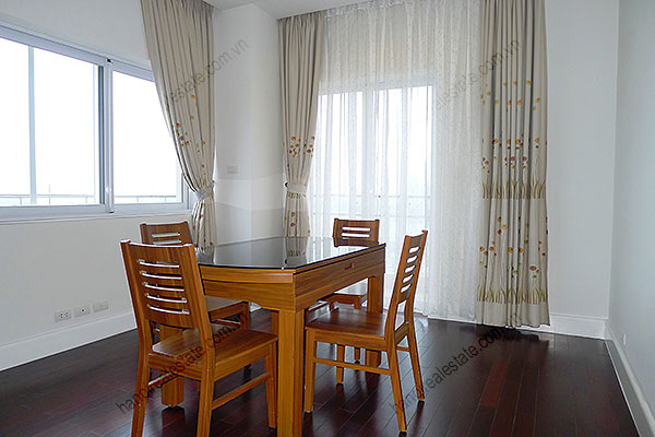 Furnished Bright and modern 4BR Apartment for rent in Golden West Lake Hanoi 14