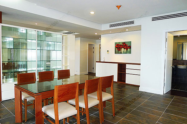 Furnished Bright and modern 4BR Apartment for rent in Golden West Lake Hanoi 7