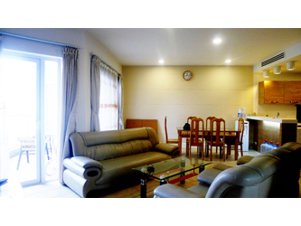 Furnished two bedroom apartment for rent at Golden West Lake, 115m2