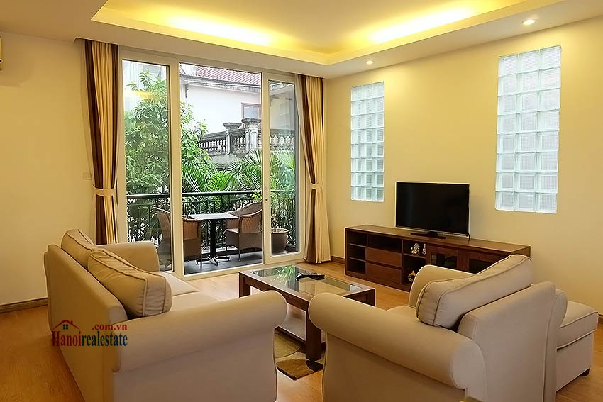 Garden apartment 03BR in Tay Ho (Westlake) 1