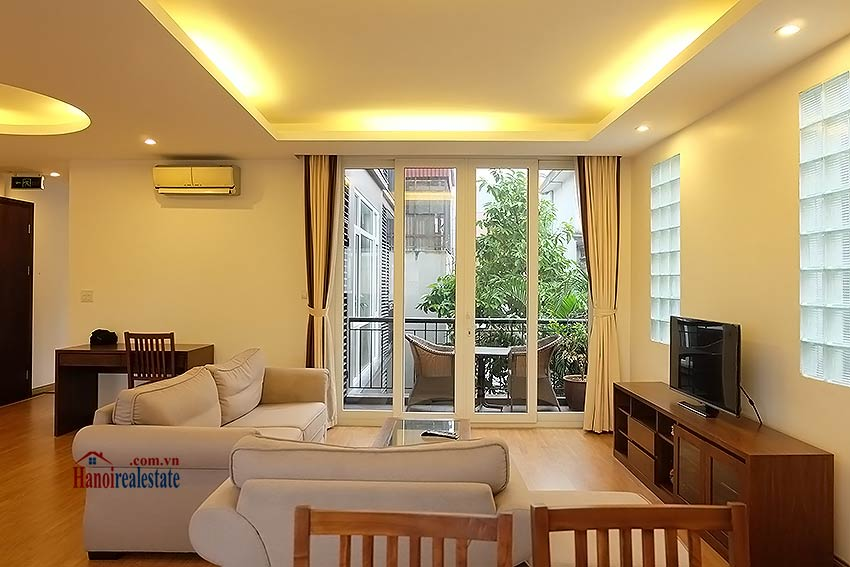 Garden apartment 03BR in Tay Ho (Westlake) 3