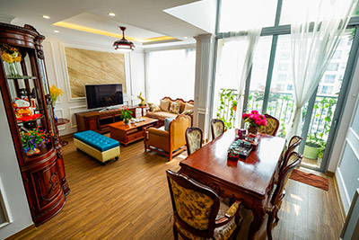 Gardenia Duplex apartment with 2 bedrooms, fully furnished