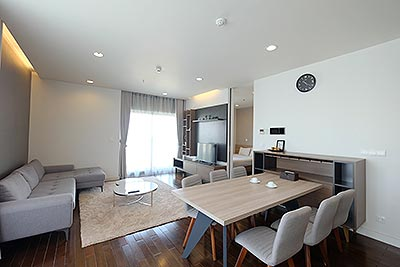 Glorious 02BRs serviced apartment at Lancaster Hanoi, pool and gym
