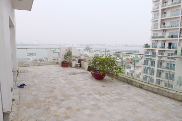 Golden West Lake Hanoi | Duplex Apartment has 250 m2 living area, large terrace for rent