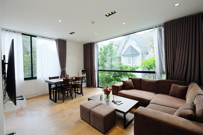 Good quality 1 bedroom apartment on To Ngoc Van for rent 1