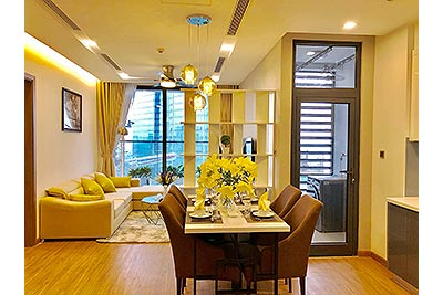 Gorgeous 02BRs apartment at M1 Vinhomes Metropolis, city view