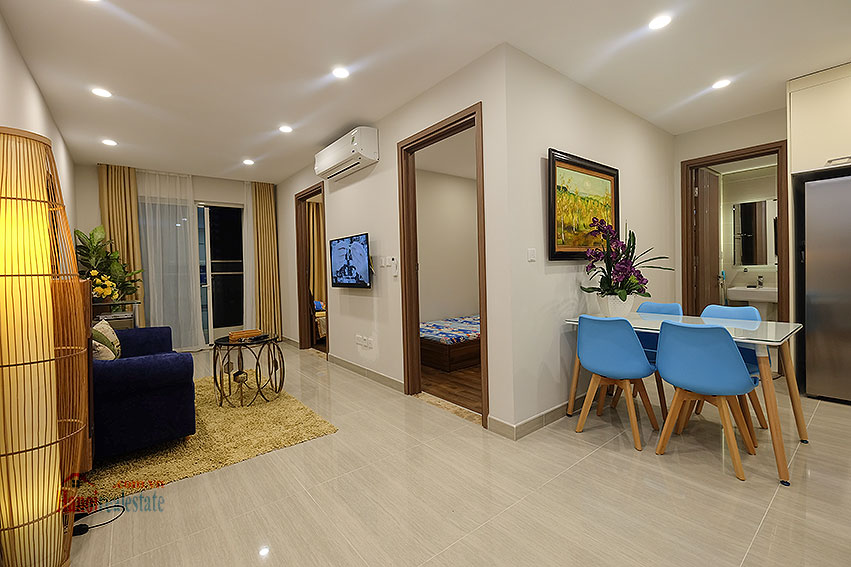 Gorgeous 02BRs apartment on high floor at L3 Ciputra 2