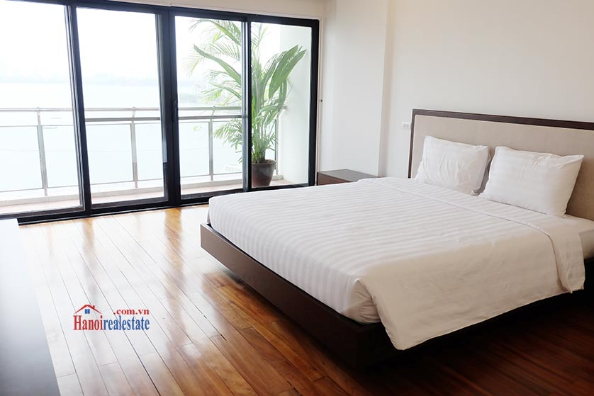 Hanoi Lake view: Bright and airy 02BRs serviced apartment, lake view 10