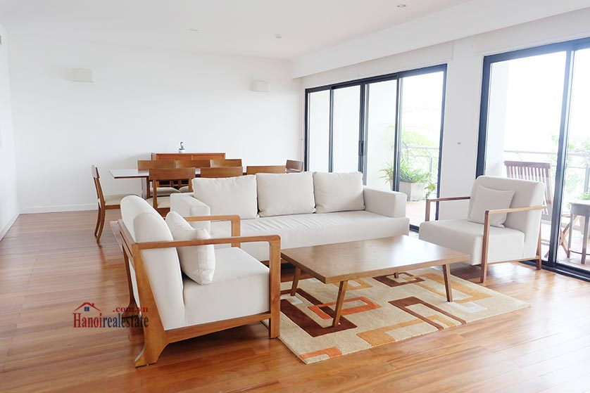 Hanoi Lake view: Bright and airy 02BRs serviced apartment, lake view 2