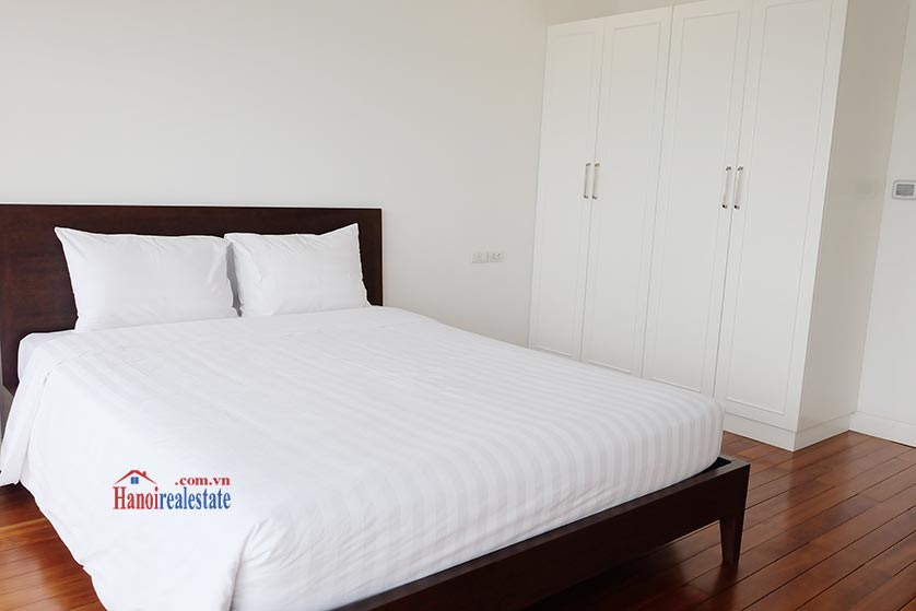 Hanoi Lake view: Bright and airy 02BRs serviced apartment, lake view 8