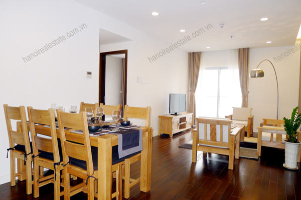 Hanoi - Lancaster 3 bedroom furnished apartment on high floor, 146m2 1
