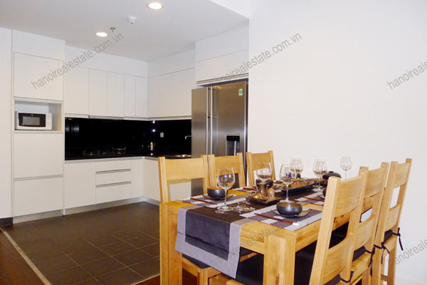 Hanoi - Lancaster 3 bedroom furnished apartment on high floor, 146m2 3
