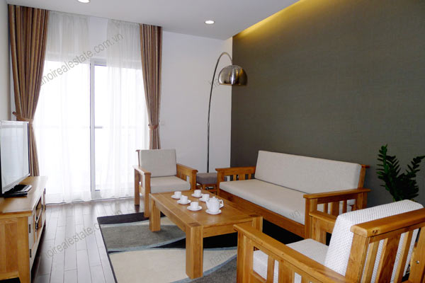 Hanoi - Lancaster 3 bedroom furnished apartment on high floor, 146m2 4