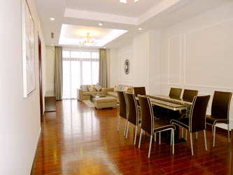 Hanoi-Royal City 2 bedroom apartment for rent at R1, well furnished