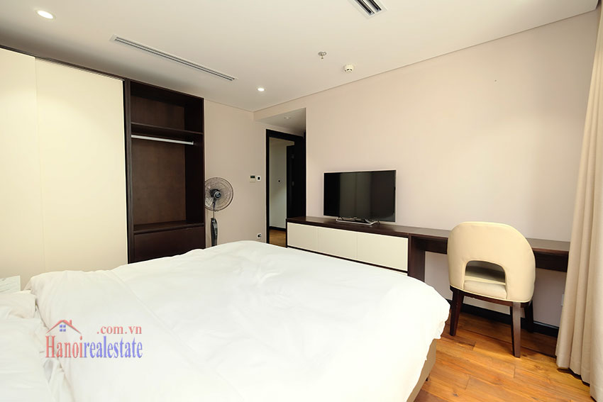 High Floor & Modern 03 Bedroom Serviced Apartment in Hoan Kiem 19