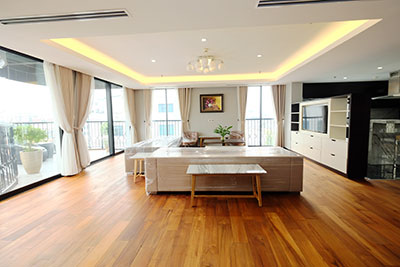 High Floor & Modern 03 Bedroom Serviced Apartment in Hoan Kiem