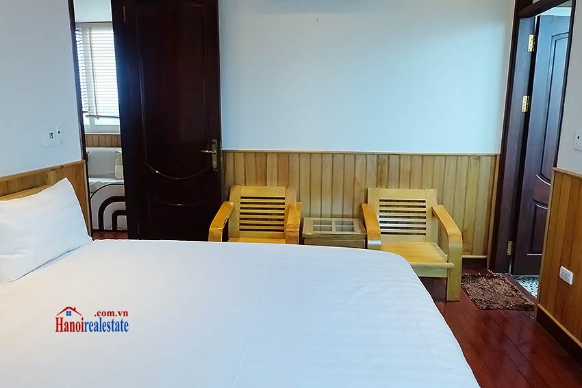 High floor serviced apartment to rent in Ba Dinh, close to Lotte shopping mall 5