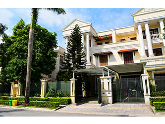 High Quality Villa with garden in C7 Ciputra Hanoi, nearby UNIT School