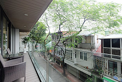 High standard 2-bedroom apartment with big balcony in Truc Bach