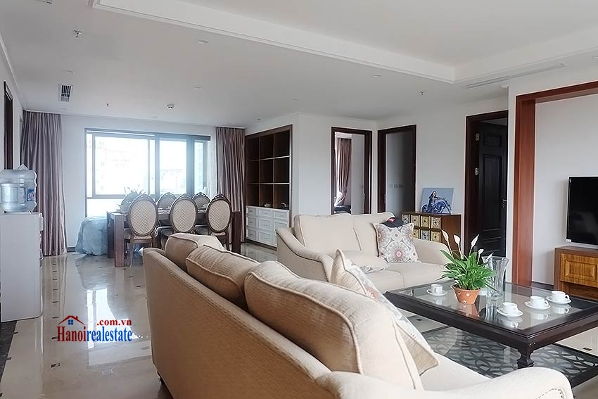 High standard 4 bedroom apartment to lease on Pham Hong Thai, Ba Dinh 3