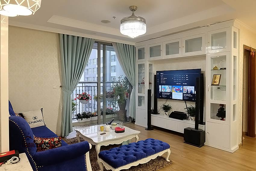 High-end apartment in Times City - Park Hill Premium, royal furniture 3