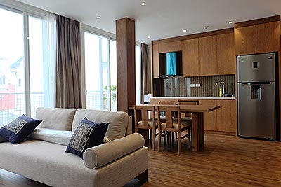 High-end serviced apartment in Ba Dinh, Japanese style, 2 bedrooms