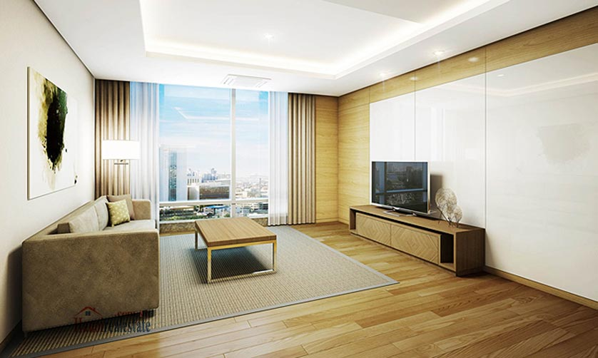 High-ended fully furnished 02BRs serviced apartment for rent at Lotte Residence 1