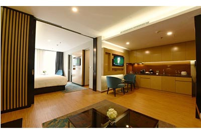 High-ended 01BR serviced apartment at Novotel Suites Hanoi, Cau Giay District