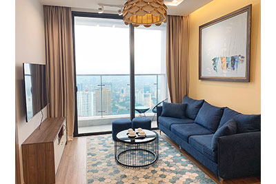 High-rise apartment, comfortable, fully furnished in M3 Tower Vinhomes Metropolis