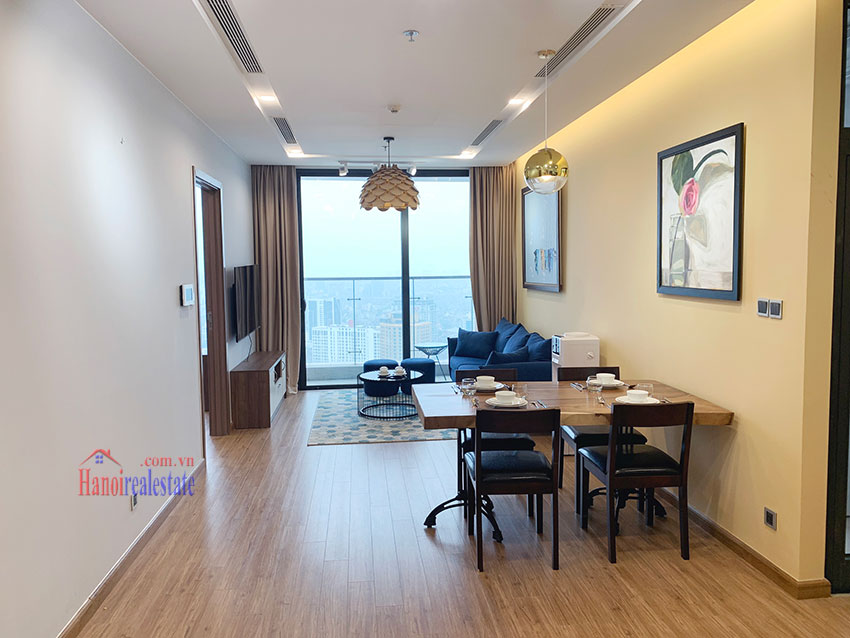 High-rise apartment, comfortable, fully furnished in M3 Tower Vinhomes Metropolis 1