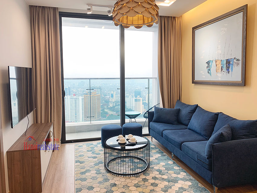 High-rise apartment, comfortable, fully furnished in M3 Tower Vinhomes Metropolis 4