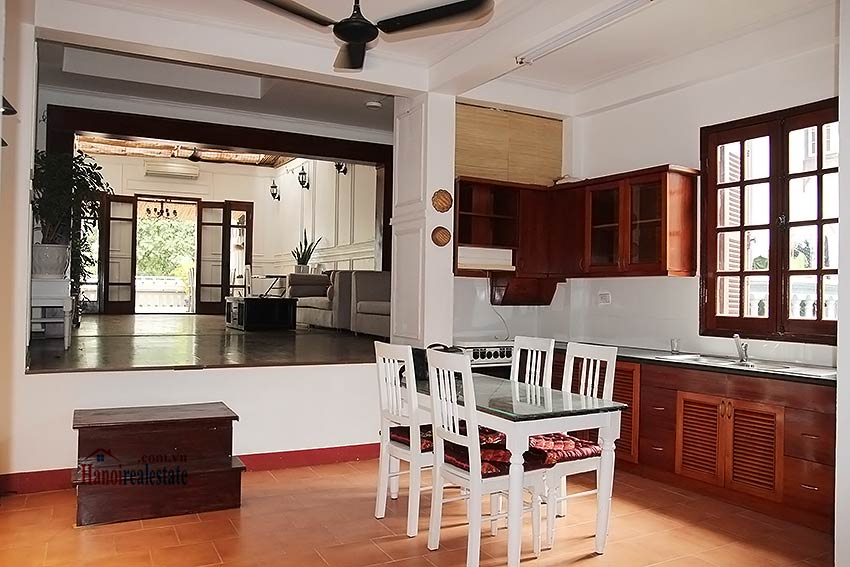 Hoan Kiem lake view house to rent with spacious terrace, short walking to Opera House 1
