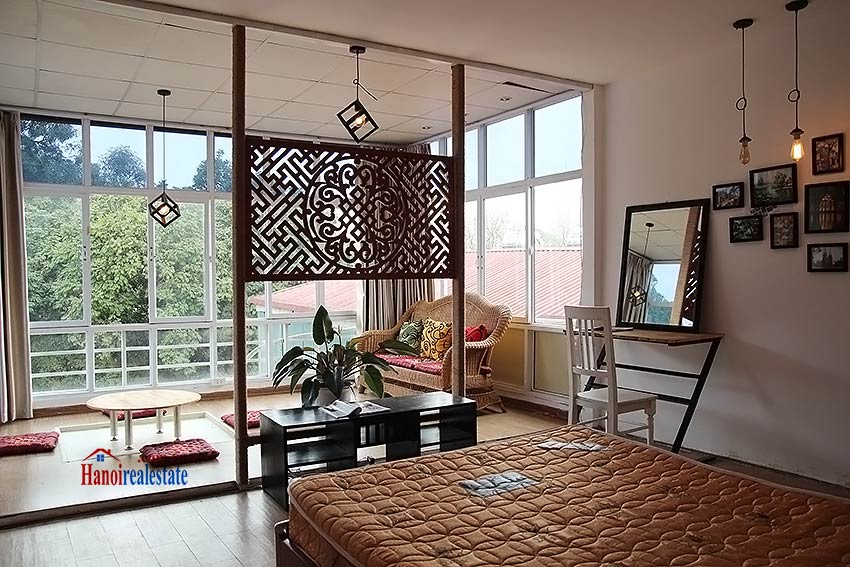 Hoan Kiem lake view house to rent with spacious terrace, short walking to Opera House 12