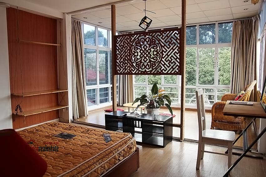 Hoan Kiem lake view house to rent with spacious terrace, short walking to Opera House 13