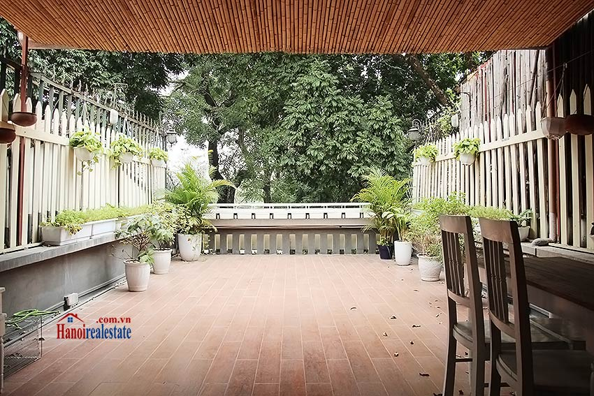 Hoan Kiem lake view house to rent with spacious terrace, short walking to Opera House 6