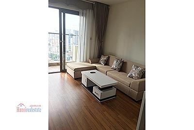 Furnished 02 bedroom apartment for rent at Home City, Cau Giay Dist