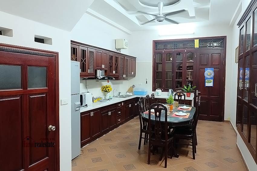 House 3BR in Ba Dinh, fully furnished 4
