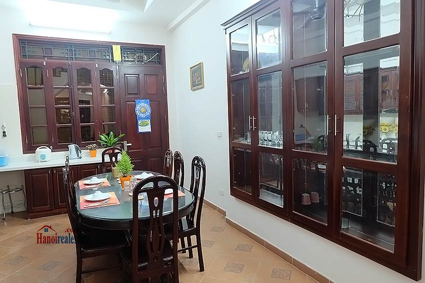 House 3BR in Ba Dinh, fully furnished 5